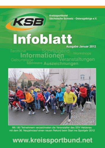 Ausgabe Januar 2012 - Kreissportbund Sächsische Schweiz