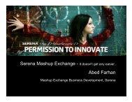 Abed Farhan - Serena Software