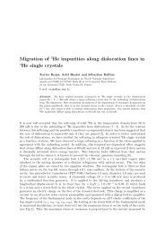 Migration of 3He along dislocations in helium 4 single crystals