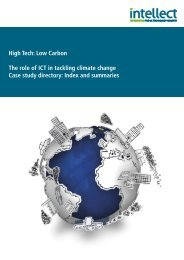 The role of ICT in tackling climate change - Case study directory