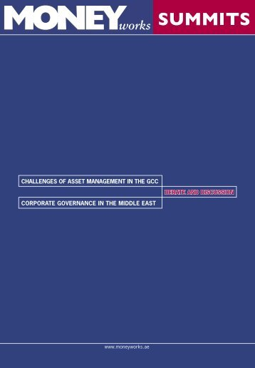 challenges of asset management in the gcc - Hawkamah, the ...