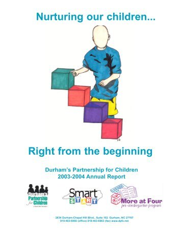 Read our Annual Report for Fiscal Year 2003-2004 - Durham's ...