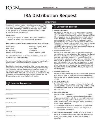 Cash Distribution Form - Preceptwm.com
