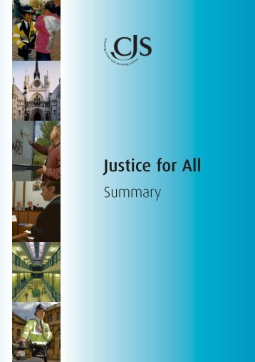 Justice for All - Crown Prosecution Service
