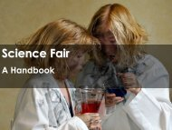 Science Fair - Science with Mr. Enns