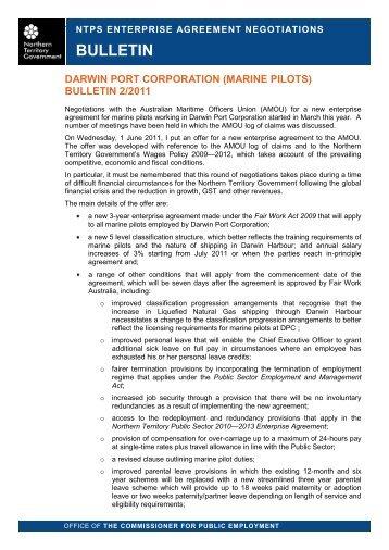 Enterprise agreement negotiations northern territory bulletin enterprise agreement negotiations northern territory platinumwayz