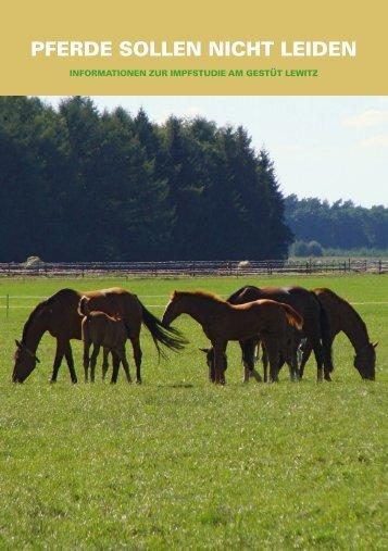 Pferde sollen nicht leiden (336k) - pferdestudie.info