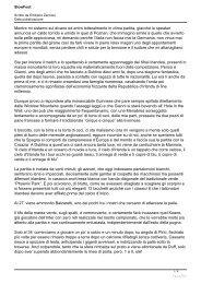 18 Giugno: ITALIA /IRLANDA 2-0 - Nazionale Italiana Scrittori