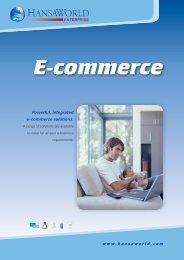 E-commerce - HansaWorld