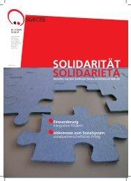 Abkommen zum Sozialsystem - SGB - CISL