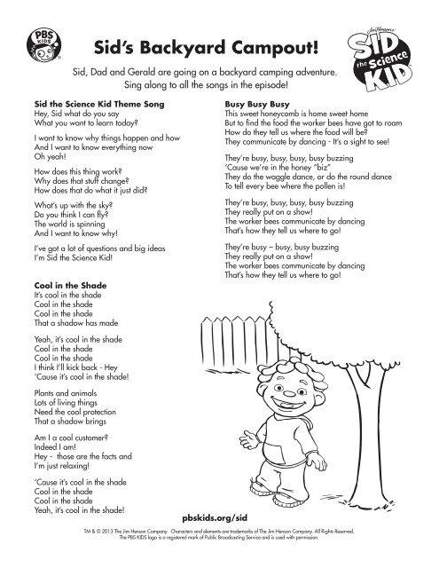 Song Lyrics Pbs