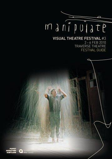 VISUAL THEATRE FESTIVAL #3 - Manipulate Festival