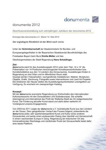 Konzept donumenta 2012