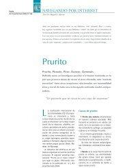 Prurito - Actualizaciones Terapeuticas Dermatologicas y Esteticas