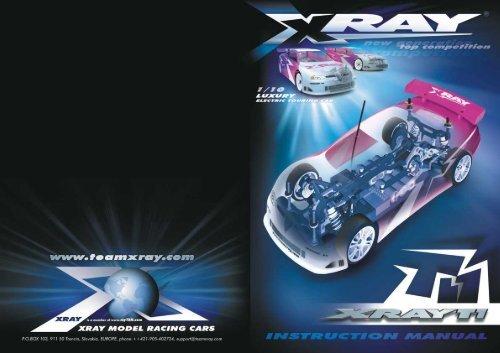 Team XRay T1 Manual - Ashford Hobby