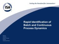 Rapid-Identification-of-Process Dynamics - Modeling and Control