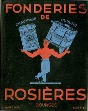Rosieres catalogue chauffage et cuisinières - Ultimheat