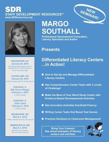 SDR MARGO SOUTHALL - Staff Development Resources