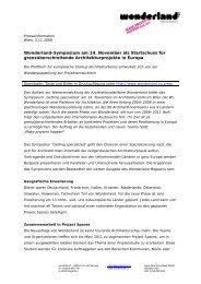 Wonderland-Symposium am 14. November als Startschuss für ...