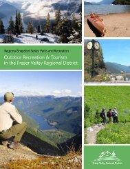 Outdoor Recreation &Tourism - Fraser Valley Regional District