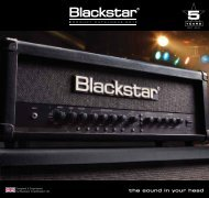 Product Catalogue 2012 - Blackstar Amplification