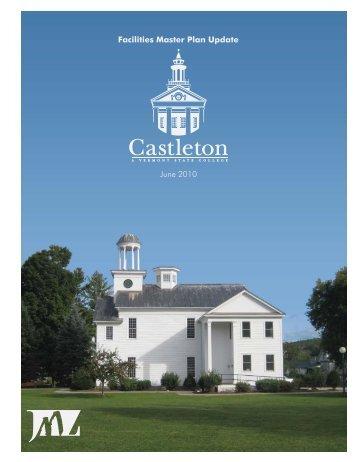 Facilities Master Plan Update June 2010 - Castleton State College