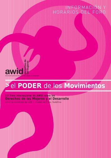 el PODER de los Movimientos - AWID