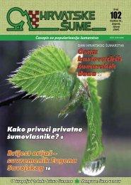HRVATSKE ŠUME 102 - 6/2005