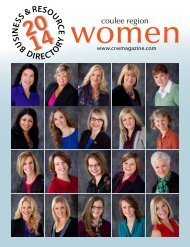 2013 business & resource directory - Coulee Region Women's ...