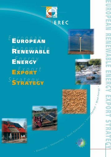 European Renewable Energy Export Strategy