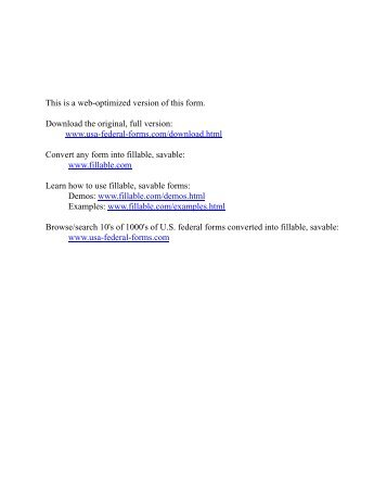 U.S. Air Force form usafa111 - PDF Fillable Savable