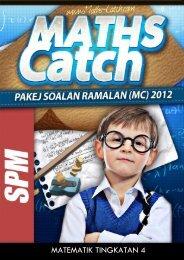 Preview Pakej Soalan Ramalan Edisi Mid Term Pilihan 1 [MATHS TINGKATAN 4]