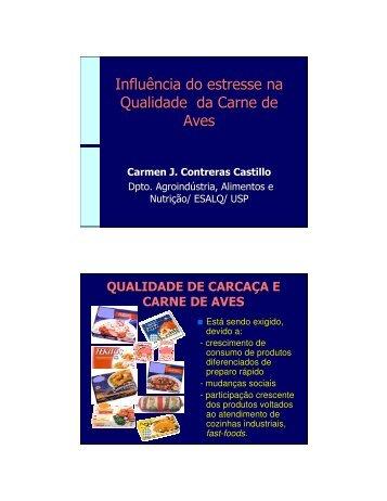 Influência do estresse na Qualidade da Carne de Aves - Embrapa ...