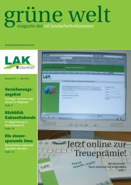 Grüne Welt - Landarbeiterkammer