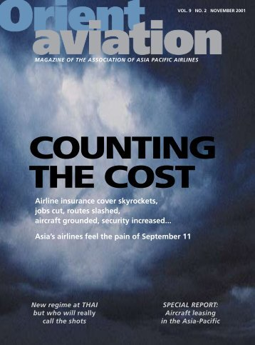 Asia's airlines feel the pain of September 11 Airline ... - Orient Aviation