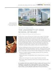 School of Music - University of Iowa Foundation