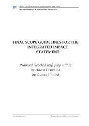 Final Scope Guidelines - Gunns Ltd   Pulp Mill Project