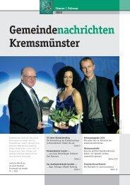 Gemeindenachrichten Jänner/Februar 2003 - Marktgemeinde ...