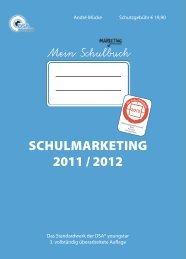 SCHULMARKETING 2011 / 2012