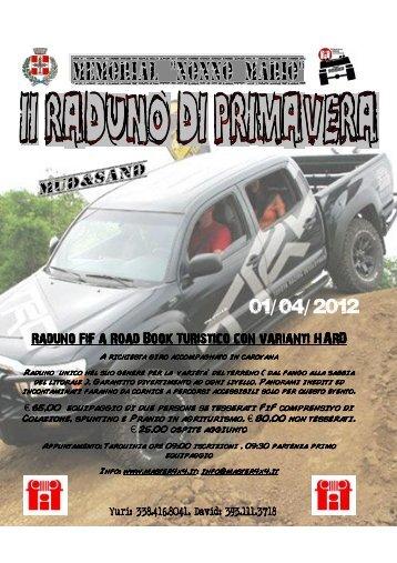 Raduno FiF a Road Book FiF a Road Book FiF a ... - Off Road Web