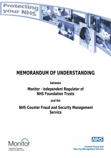 Business memorandum assignments and instructions memorandum of understanding with monitor nhs business spiritdancerdesigns Image collections
