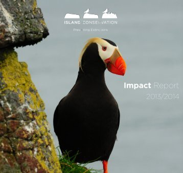 2013 + 2014 Island Conservation Impact Report