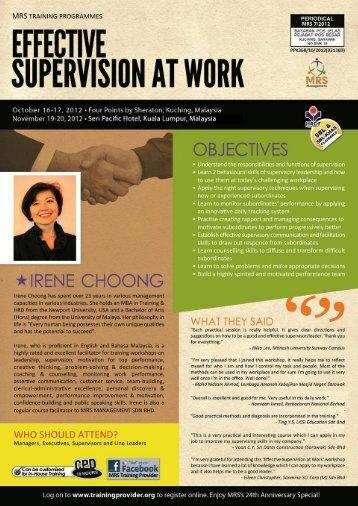EFFECTIVE - Training Provider Malaysia