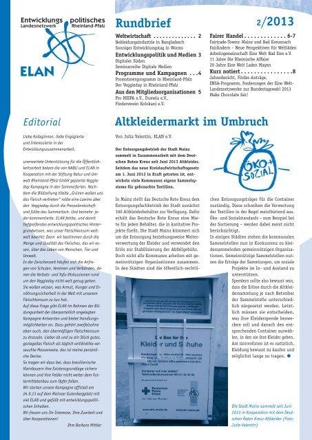 Rundbrief 02/2013 - ELAN