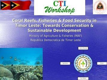 07. S2 Country presentations – Timor Leste - ARC Centre of ...