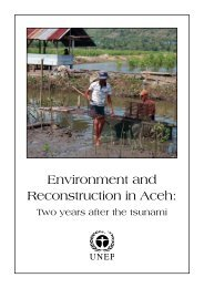 Environment and reconstruction in Aceh: Two years after