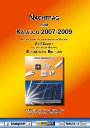 KATALOG 2007-2009 - Hans Krempl Haustechnik GmbH