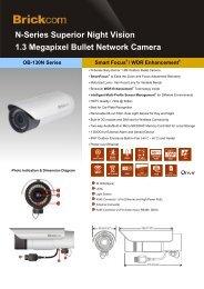 N-Series Superior Night Vision 1.3 Megapixel Bullet ... - Tuotteet