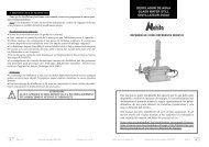 Manual de instrucciones - Auxilab