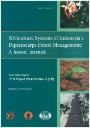 Page 1 Page 2 Silviculture System of Indonesia Dípterocarps Forest ...